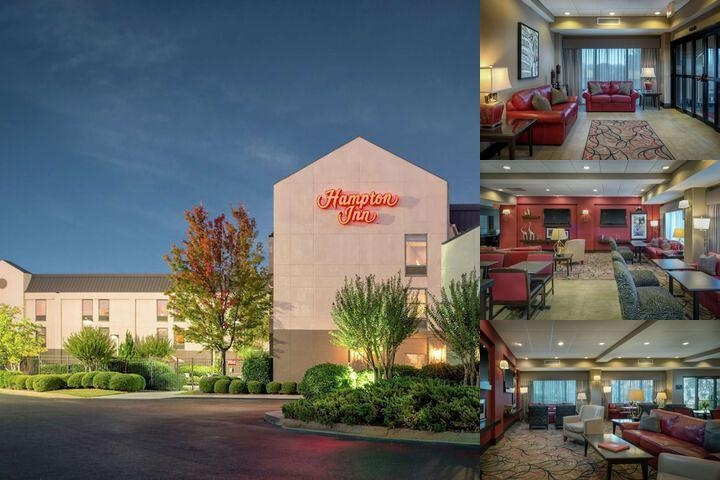 Hampton Inn University photo collage