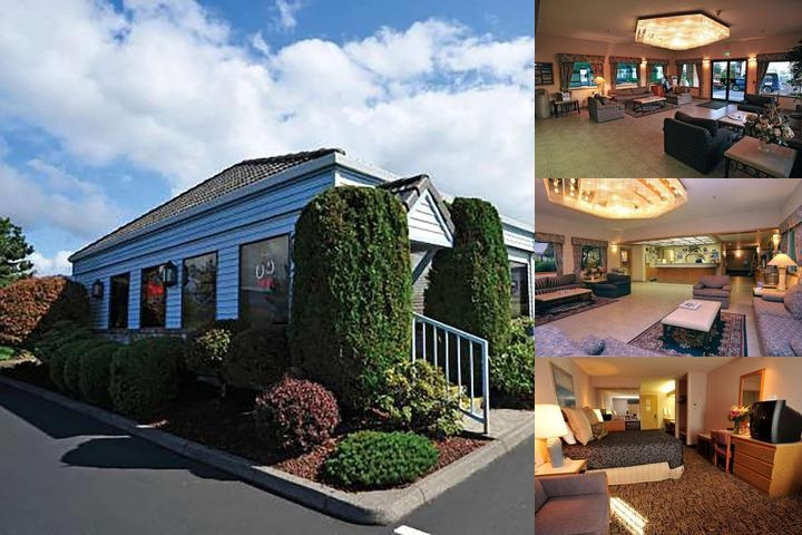 Shilo Inn Suites Hotel Tillamook photo collage