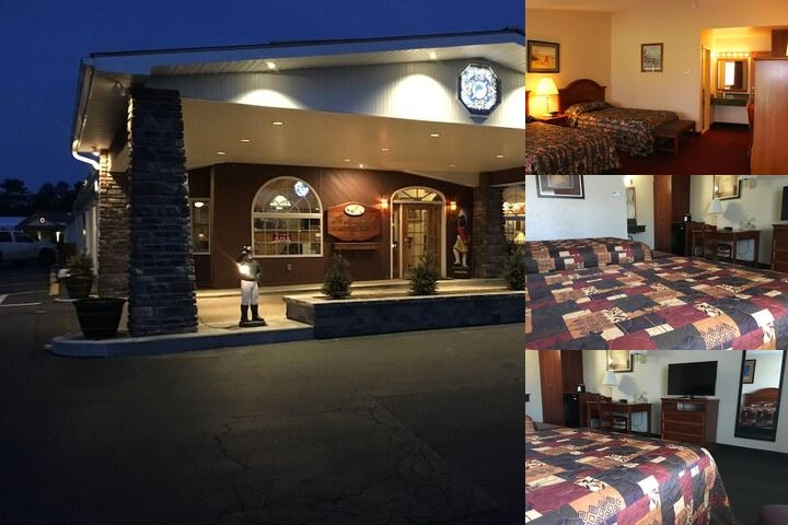 Landmark Motor Inn photo collage
