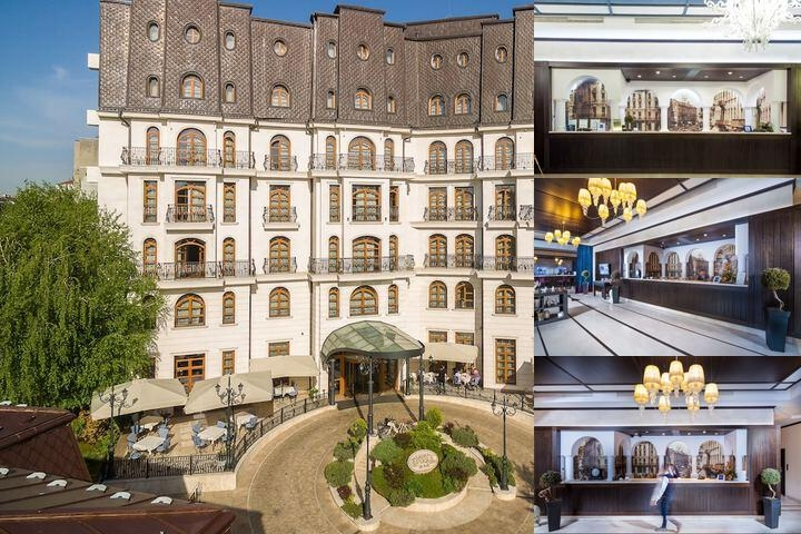 Epoque Hotel photo collage