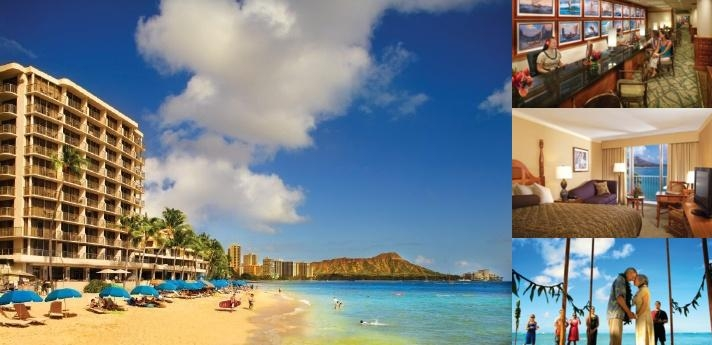 Outrigger Reef Waikiki Beach Resort photo collage