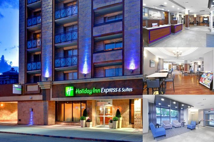 Holiday Inn Express & Suites Downtown Calgary photo collage
