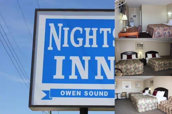 Knights Inn Owen Sound photo collage