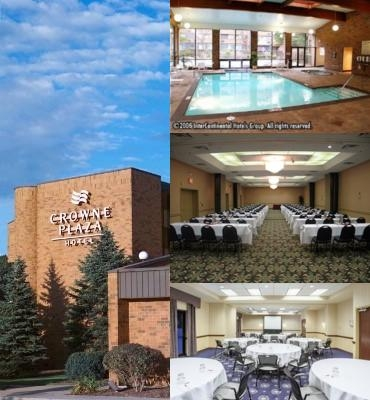 Crowne Plaza Grand Rapids Airport photo collage