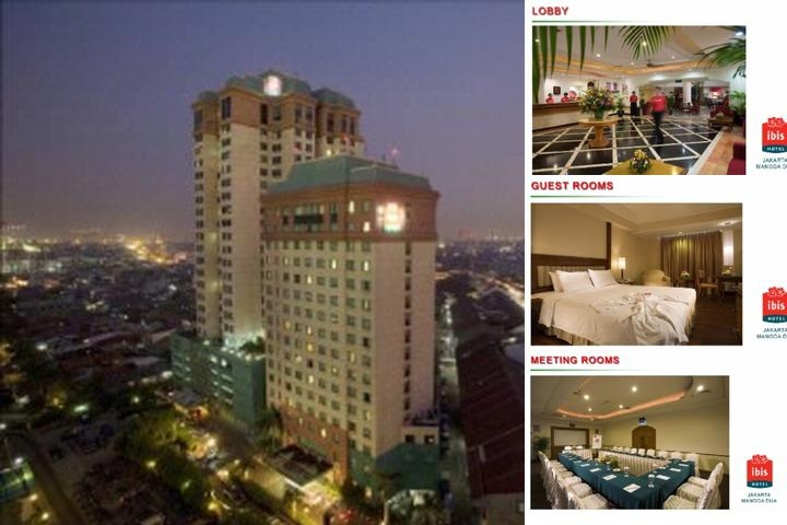 Ibis Jakarta Mangga Dua Hotel photo collage