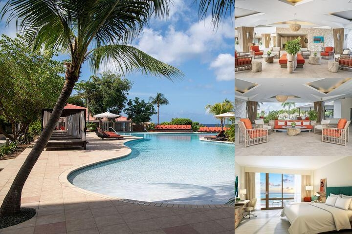Hilton Curacao photo collage