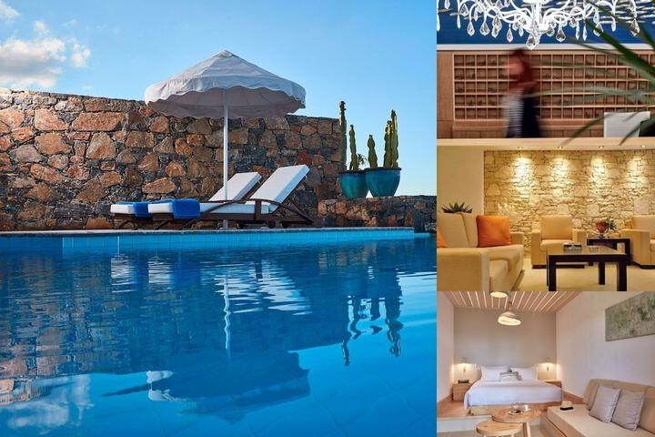 Elounda Palm Hotel photo collage