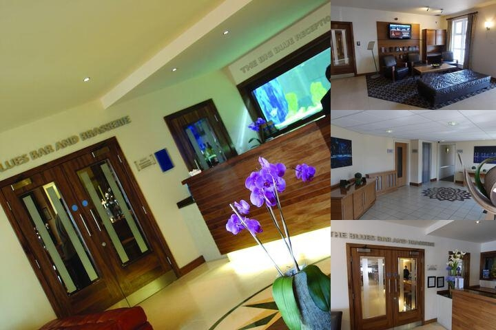 Big Blue Hotel photo collage