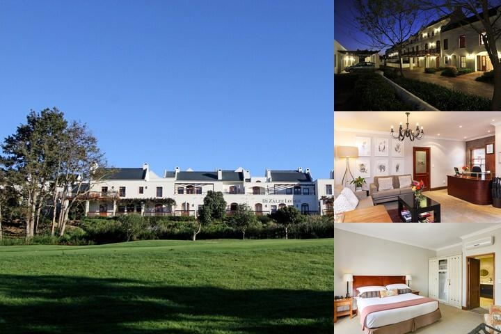 De Zalze Lodge photo collage