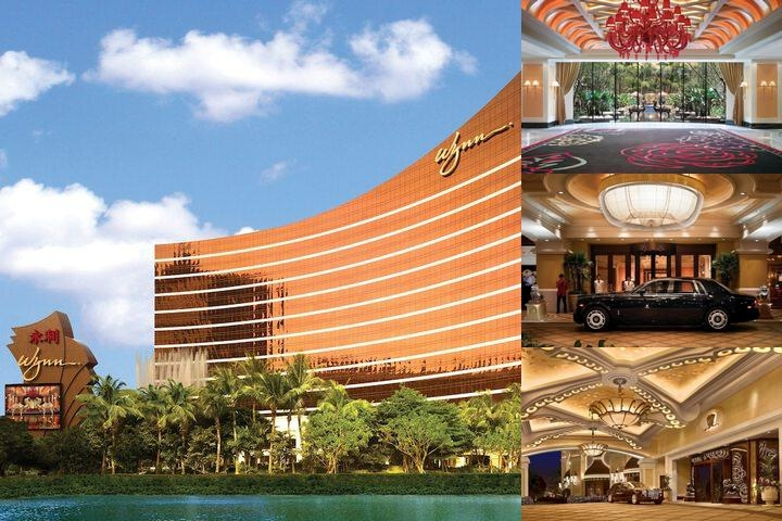 Wynn Macau photo collage