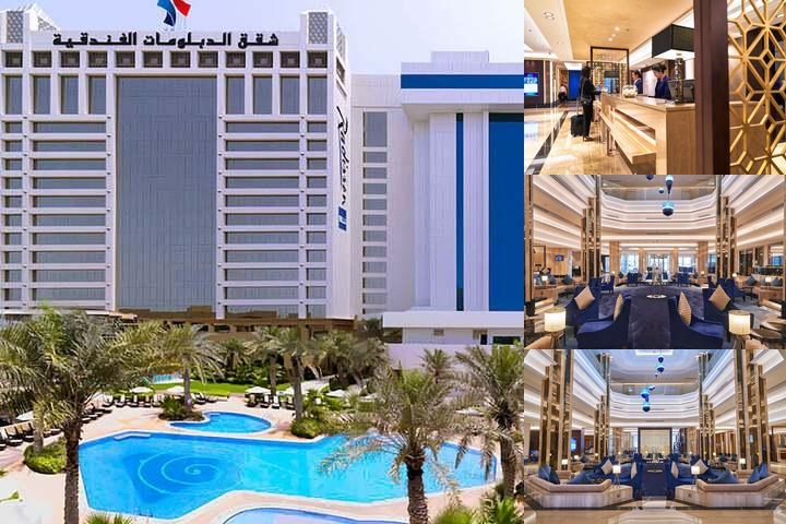 The Diplomat Radisson Blu Hotel Residence & Spa photo collage