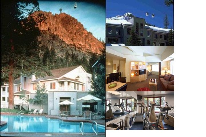Squaw Valley Lodge photo collage