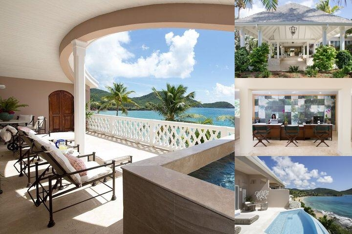 Curtain Bluff Resort photo collage