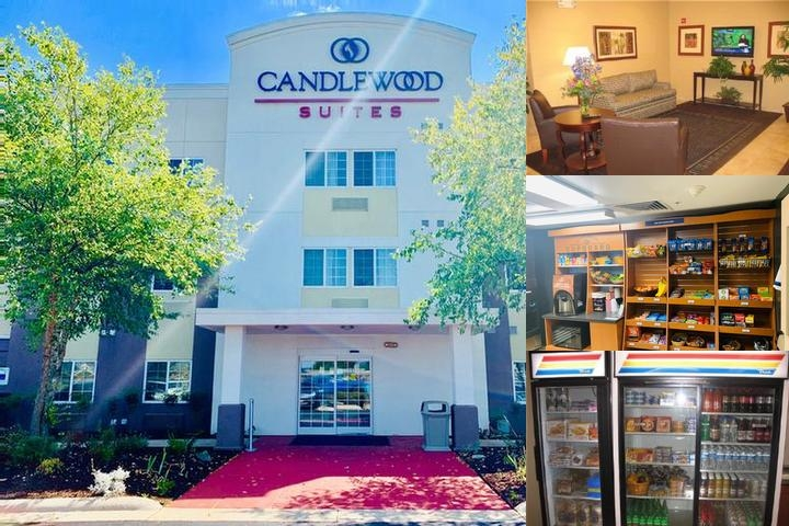 Candlewood Suites Hot Springs photo collage