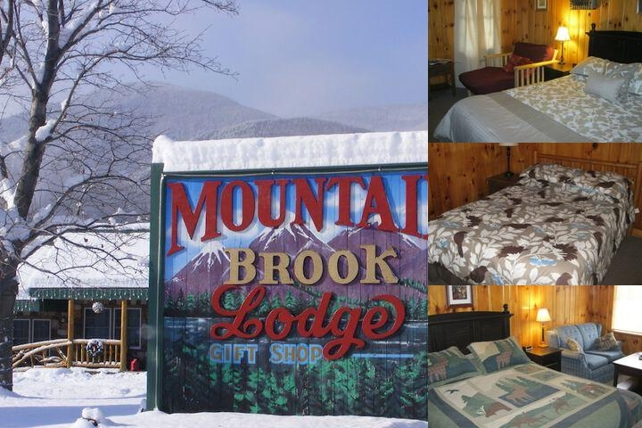 Mountain Brook Lodge photo collage