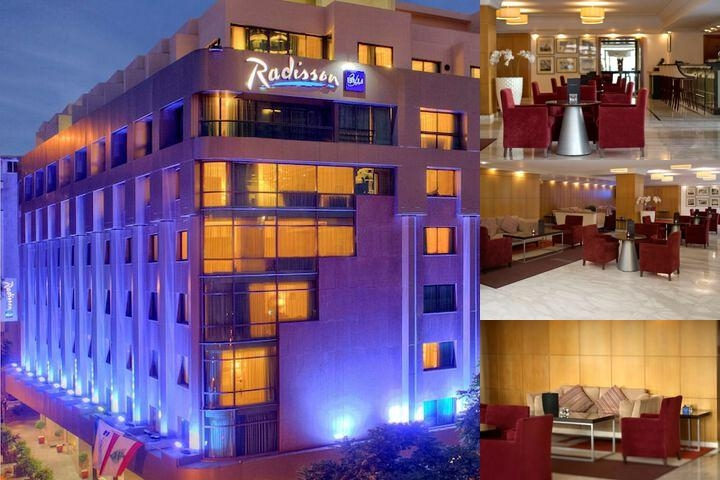 Radisson Blu Martinez Hotel Beirut photo collage