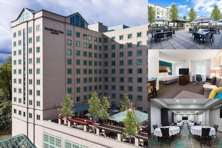 Residence Inn Marriott Pittsburgh University / Med photo collage