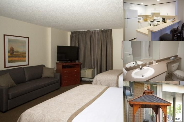 Candlewood Suites Montreal photo collage