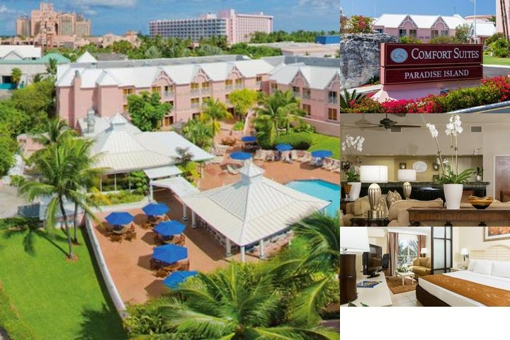 Comfort Suites Paradise Island photo collage