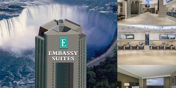 Embassy Suites Hotel Welcome To The Embassy Suites Niagara Falls - Fallsview Hotel.