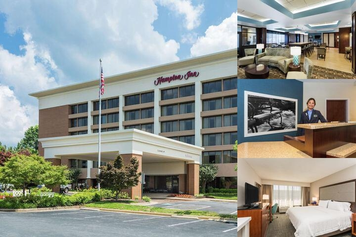 Hampton Inn Manassas photo collage