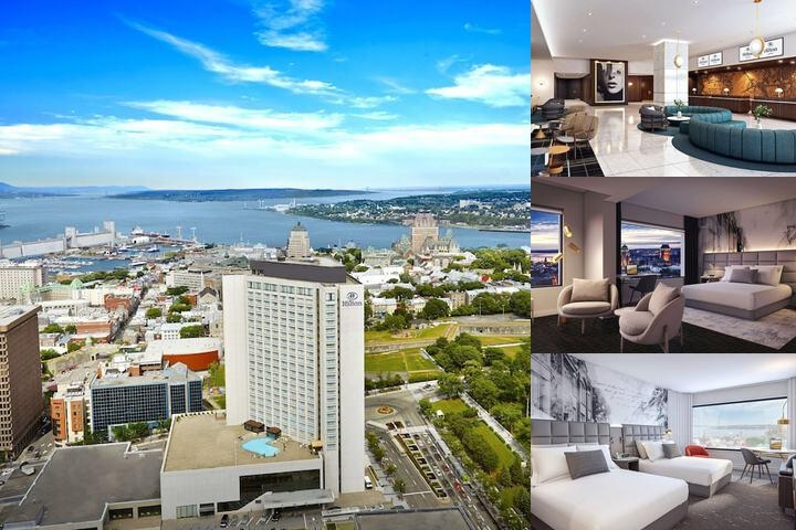 Hilton Quebec photo collage