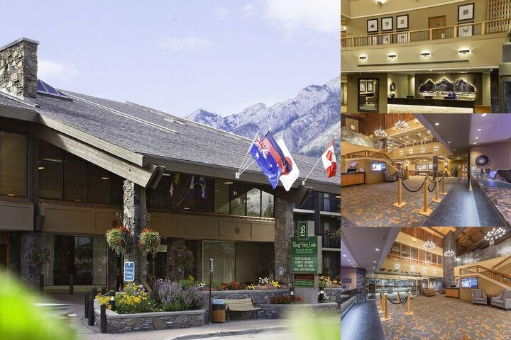 Banff Park Lodge photo collage