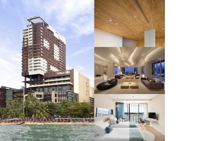 Hilton Pattaya Thailand photo collage