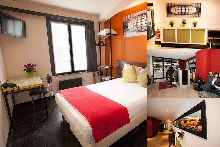 Antwerp Hotel National photo collage