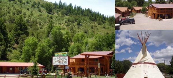 Ute Bluff Lodge Cabins & Rv Park photo collage