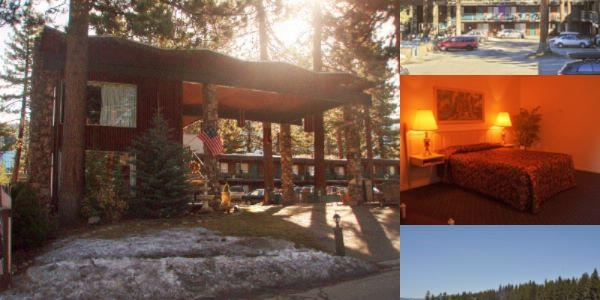 Lake Tahoe Ambassador Lodge photo collage