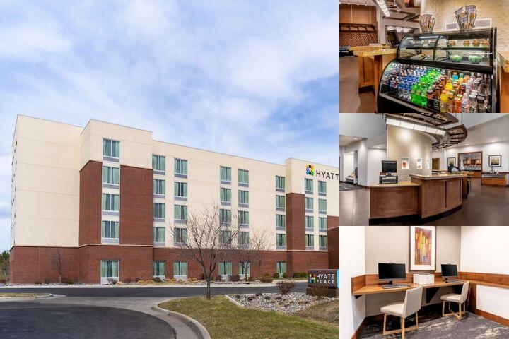 Hyatt Place Salt Lake City Airport photo collage