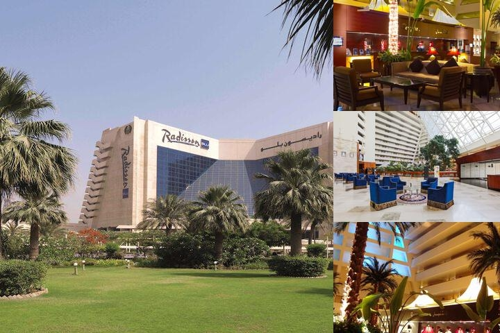 Radisson Blu Resort Sharjah photo collage
