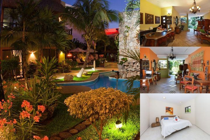 Aventura Mexicana Boutique Hotel & Suites photo collage