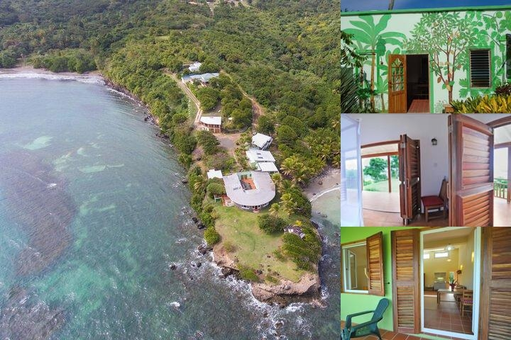 Cabier Ocean Lodge photo collage