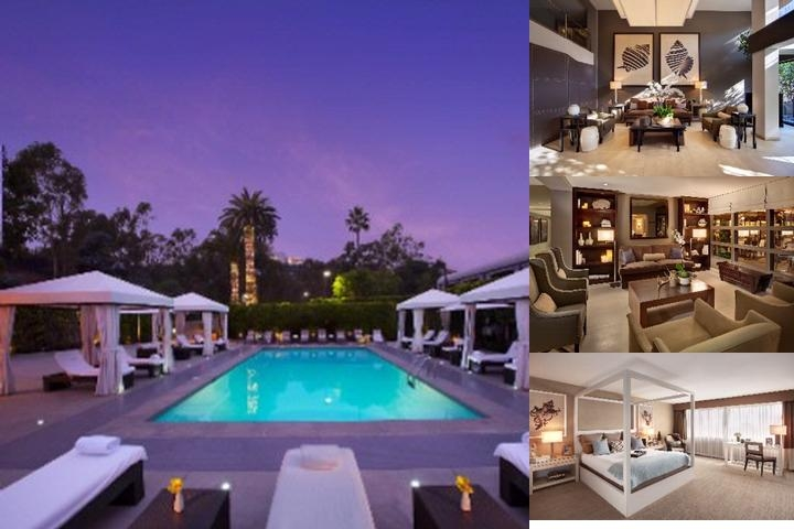 Luxe Sunset Boulevard Hotel photo collage
