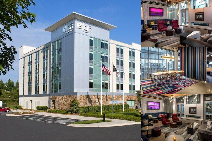Aloft Charlotte Ballantyne photo collage