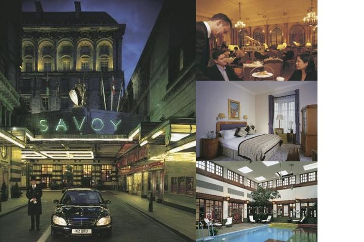 The Savoy photo collage