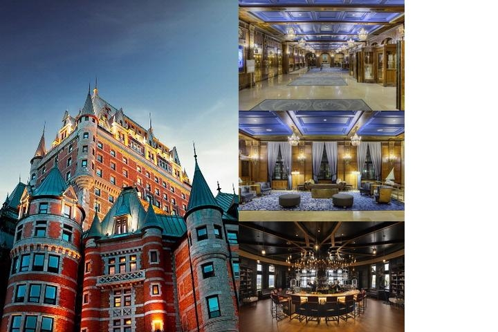 Fairmont Le Château Frontenac photo collage