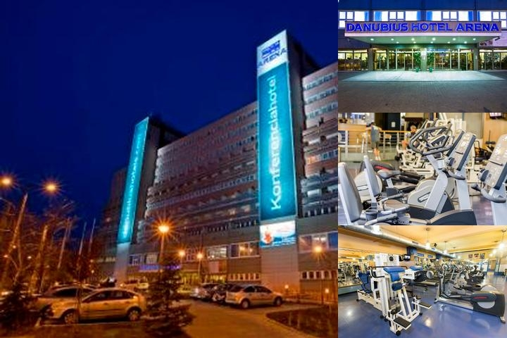 Danubius Hotel Arena photo collage