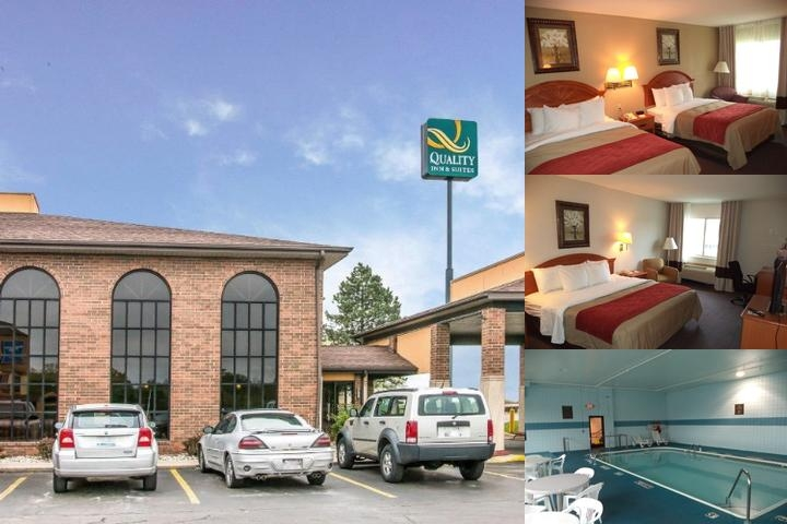 Quality Inn Suites Flint Airport photo collage