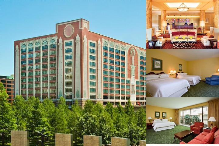 St. Louis City Center Hotel & Suites photo collage