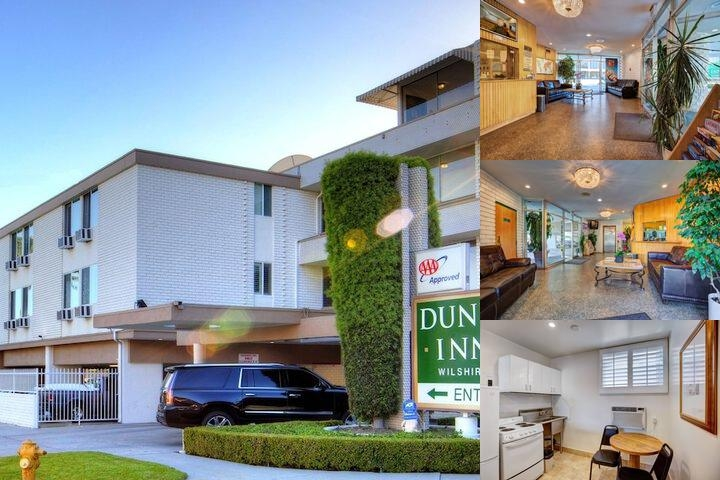 Dunes Inn Wilshire photo collage