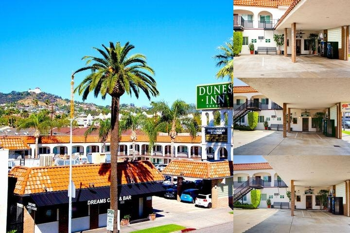 Dunes Inn Sunset photo collage