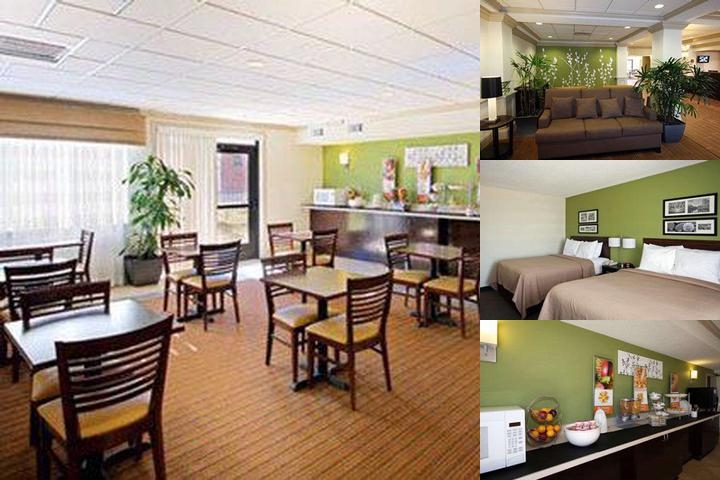 Sleep Inn & Suites Downtown Jackson photo collage