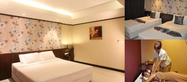 Avana Bangkok Hotel photo collage