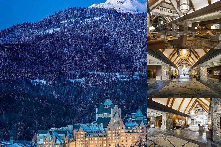 The Fairmont Chateau Whistler photo collage