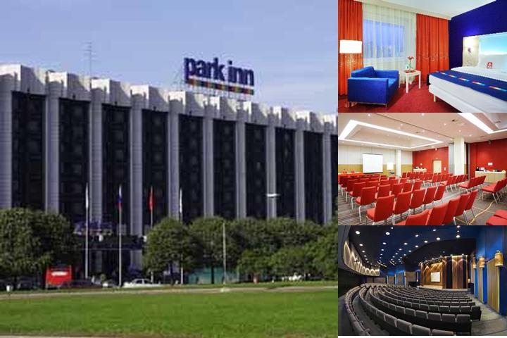 Park Inn Pulkovskaya photo collage