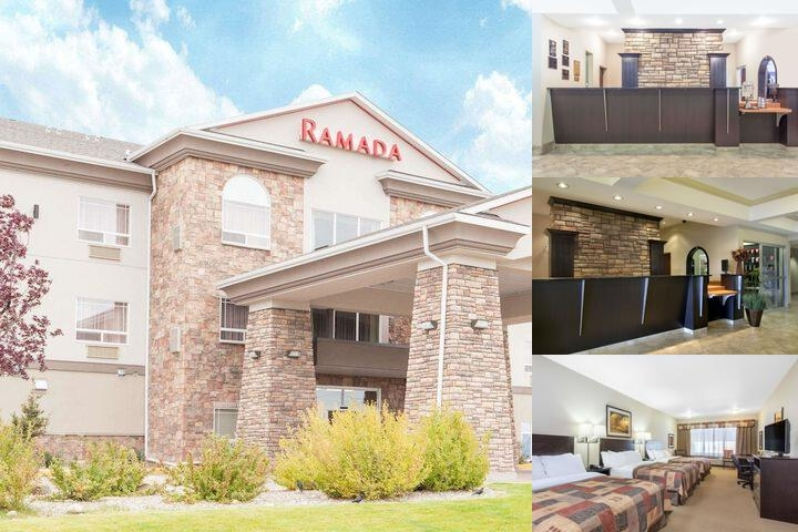 Ramada Pincher Creek photo collage
