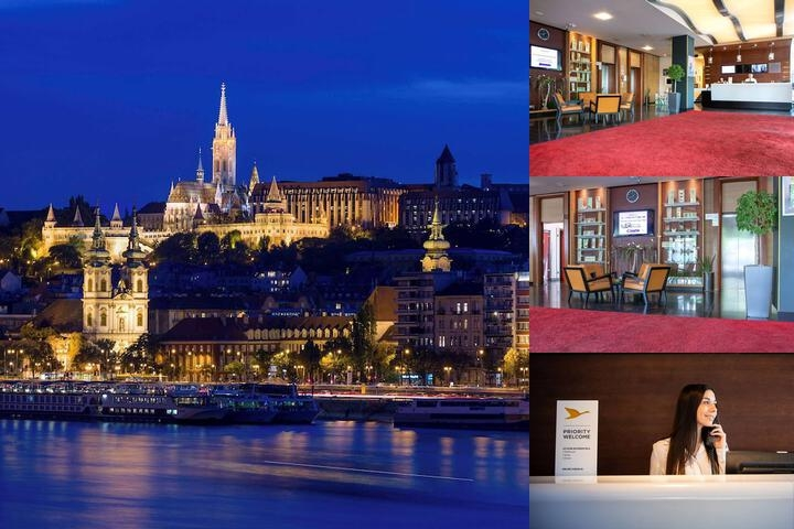 Novotel Budapest Danube photo collage
